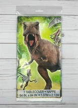 Plastic Tablecloth Tablecover Party Picnic 54x84 Jurassic World - $3.99