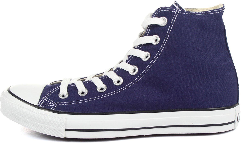 Converse The Chuck Taylor All Star Hi Sneaker in Blue Ribbon,6M / 8W,Blue