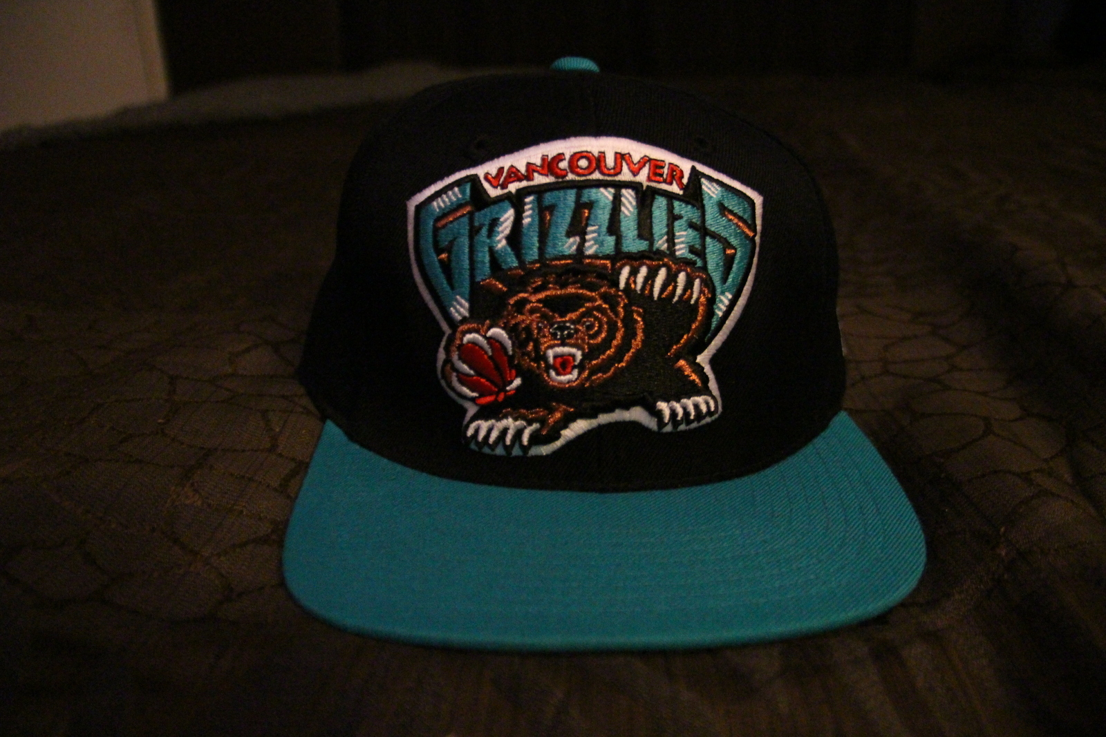 professional sale great deals 2017 differently Vancouver Grizzlies Hardwood Classics Cropped XL Snapback Cap By ...