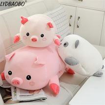 90cm Giant Cute Panda&Pig Animal Plush Baby Soft Stuffed Sofa Pillow Hand Warm D image 4