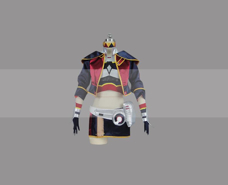 Sword art online fatal bullet silica cosplay costume for sale