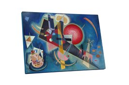"Pingo World 0617QU5H3TA ""Kandinsky I'm Blue"" Gallery Wrapped Canvas Art, 30"" x 2 - $54.40"