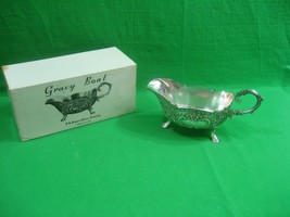 Vintage F B Rogers Silver Co Gravy Boat Tarnish Resistant - $23.33