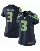 Nike Seattle Seahawks Women's Russell Wilson Game Jersey - Navy #3 - $89.05