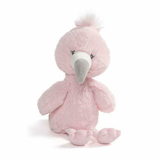 "Primary image for Baby GUND Toothpick Flamingo Plush Stuffed Animal 12"", Pink .Licensed Toy. NWT"