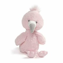 "Baby GUND Toothpick Flamingo Plush Stuffed Animal 12"", Pink .Licensed To... - $15.67"