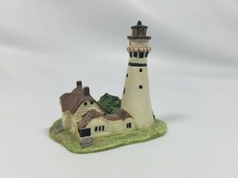 (12) Lenox American Lighthouse miniture Collection   Grosse Point (Illin... - $4.46