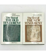 The Text of the Old and New Testament Set Wurthwein Aland Erroll Rhodes BK5 - $54.95