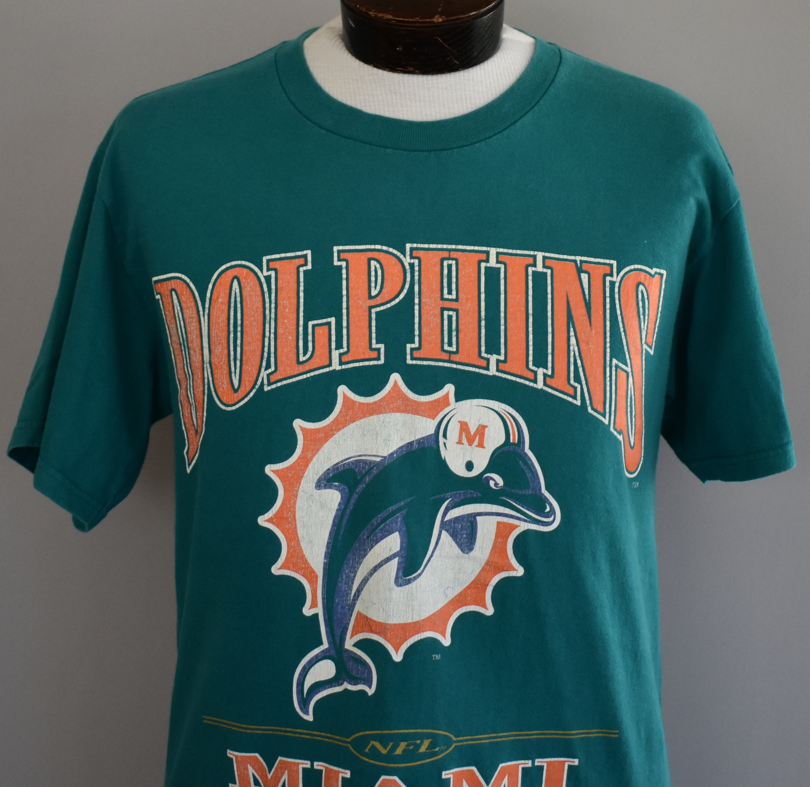 b2ed8ede Vintage 90s Miami Dolphins T-shirt Turquoise and 50 similar items