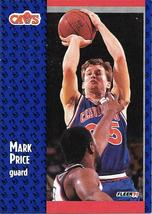 Mark Price ~ 1991-92 Fleer #38 ~ Cavaliers - $0.05