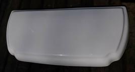 "21II59 American Standard Toilet Tank Lid: White, Ogee, 18-5/8"" X 8-5/8"" Overall - $98.91"