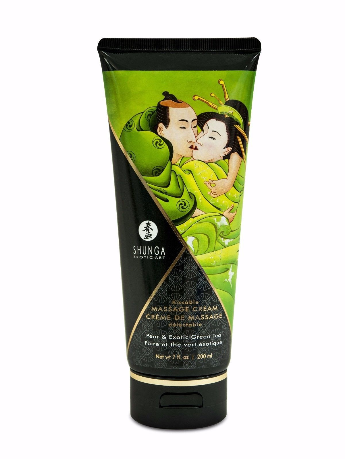 MASSAGE BODY CREAM BY SHUNGA CREAMY SILKY MULTIPLE KISSABLE FLAVORED SCENTS