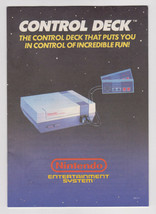 Nintendo NES Control Deck Manual Instruction Booklet ONLY - $7.69