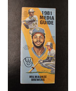 1981 Milwaukee Brewers Media Guide Cooper Robin Yount - $19.79