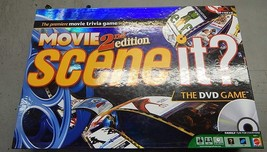 Scene It? DVD Game: Movies, 2nd Edition (used board game w/ DVD) - $15.00
