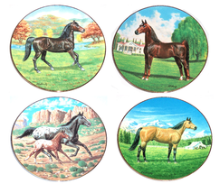 Purebred Horses of America Collector Plate WS George Donald Schwartz - $49.95