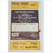 """Vintage Pioneer Photo Album Refill Pages for PSF-35 60 Photos 3.5"""" x 5.2... - $39.59"""
