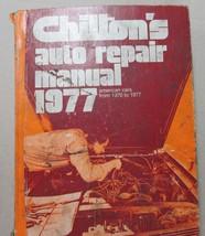Chilton 1970 71 72 73 74 75 76 77 Domestic car service/shop manual Chevy... - $11.77