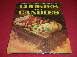 Better Homes And Gardens Cookies & Candies Cookbook Recipes Hardcover 1969 - $23.36
