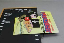 Rare Unused Vintage Disney Mickey Mouse Peg Chest Blackboard USA Made Schwab image 3