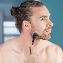Beard Derma Roller for Men's Beard Growth + Beard Serum Oil + Beard Balm Wax + C image 5