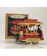 Hallmark Keepsake Ornament; Kringle Trolley - $14.85