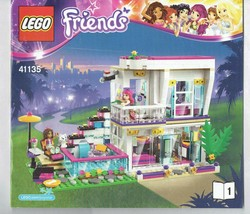 LEGO Friends 41135 #1 nstruction Booklet Manual ONLY - $5.00