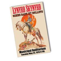 Lynyrd Skynyrd Municipal Auditorium May 25th 1976 11x17 Reproduction Poster - $10.84