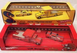 Mattel Hotwheels Red Line Don Prudhomme Snake & Tom Mcewen Mongoose Set Unused - $989.97