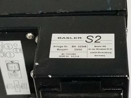 BASLER S2 BA-02348 CD/DVD OPTICAL DISC SCANNER 115/230VAC 50/60HZ 5/2.5A BA02348 image 5