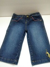 Baby Phat juniors girls jeans size 10 shorts  - $14.99