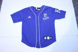 Youth Kansas City Royals Billy Butler L (7) Sz 7 Jersey (Royal Blue) Adidas - $14.01