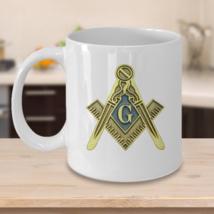 Freemason coffee mug - Masonic symbol - Scottish rite Freemasonry master mason - $20.90