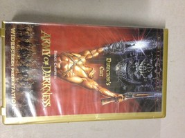 Limited Edition Widescreen Directors Cut Army of Darkness VHS Bruce Camb... - $9.49