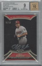 Adam Eaton 2013 Topps Tier One On The Rise Autograph Silver Ink 1/10 Bgs 9/AU 10 - $148.50