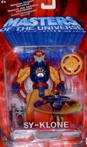 Sy-Klone Masters of the Universe MOTU Action Figure Mattel 2002 NIB He-Man - $37.12