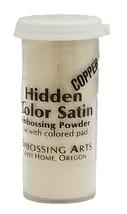 Embossing Arts Embossing Powder, Hidden Color Satin, Copper