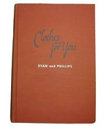 Clothes For You Ryan Phillips 1954 Vintage Clothing Construction Style C... - $74.25