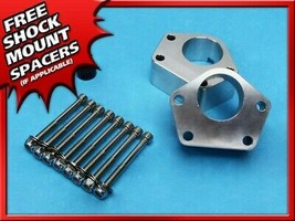 """2"""" Front Billet Joint Spacers Lift Kit Silver Fits 86-95 Toyota IFS Pickup 4X4 - $74.75"""