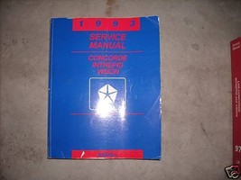 1993 DODGE Intrepid Service Shop Repair Manual Factory - $15.20