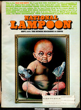 National Lampoon #54, Sept. 1974 - Old Age Issue, - $11.00