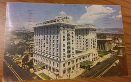 Hotel Utah Vintage 1950 Postcard - SLC Salt Lake City Temple Square Souv... - $19.79