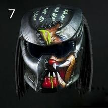 Alien Predator Helmet Motorcycle Style ( Dot / Ece Certified ) - $355.00
