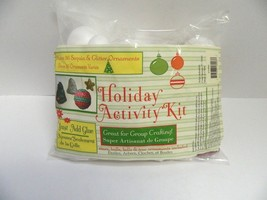 HOLIDAY ORNAMENT MAKING KIT - MAKES 36 ORNAMENTS - $8.90