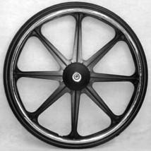 """24 x 1 3/8"""" Wheelchair 8 Spoke Mag Wheels (Pair) - 1/2"""" axle - $160.00"""