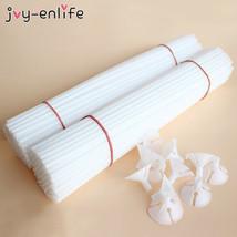 20 piezas 30cm globos soporte palos con copa globo de látex palo varilla... - $6.31+
