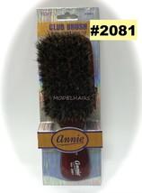 Annie Club Brush 100% Boar Bristle Item# 2081 Soft - $1.97