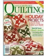 Dec 2007/American Patchwork & Quilting/Preowned Craft Magazine - $3.99