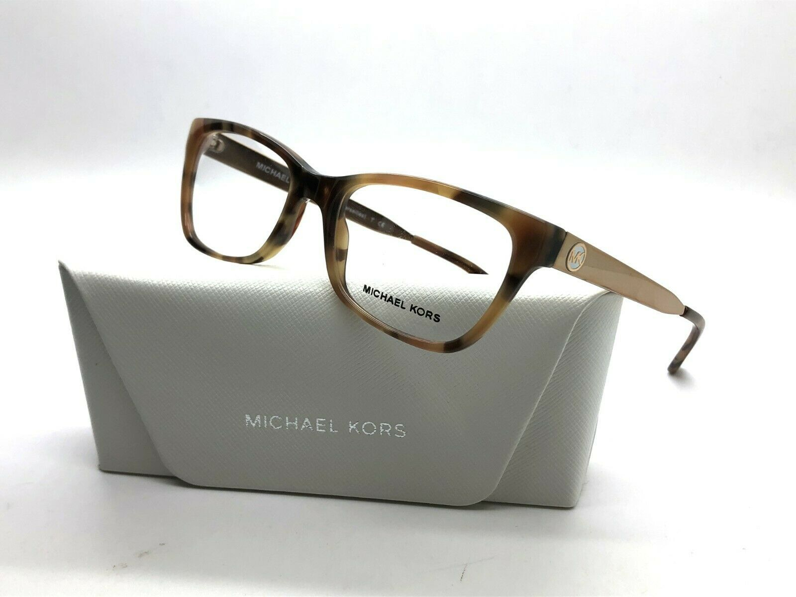 NEW MICHAEL KORS MK 4050 3311 GOLD / HAVANA AUTHENTIC EYEGLASSES FRAME 51-17
