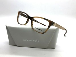 NEW MICHAEL KORS MK 4050 3311 GOLD / HAVANA AUTHENTIC EYEGLASSES FRAME 5... - $67.87